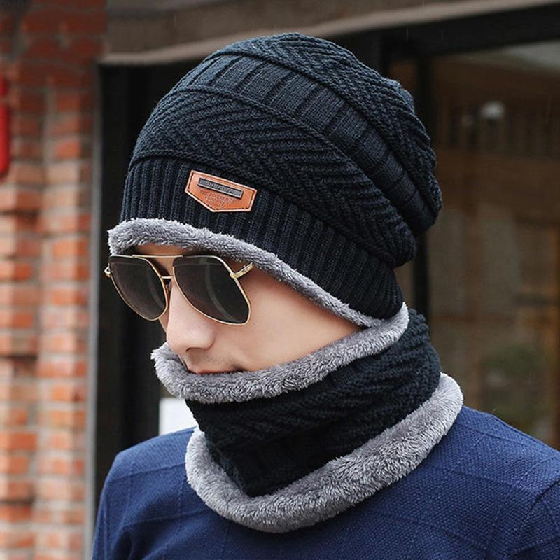 Manlee Thug Life Unisex Winter Knitting Wool Warm Hat Daily Slouchy Hats Beanie Skull Cap