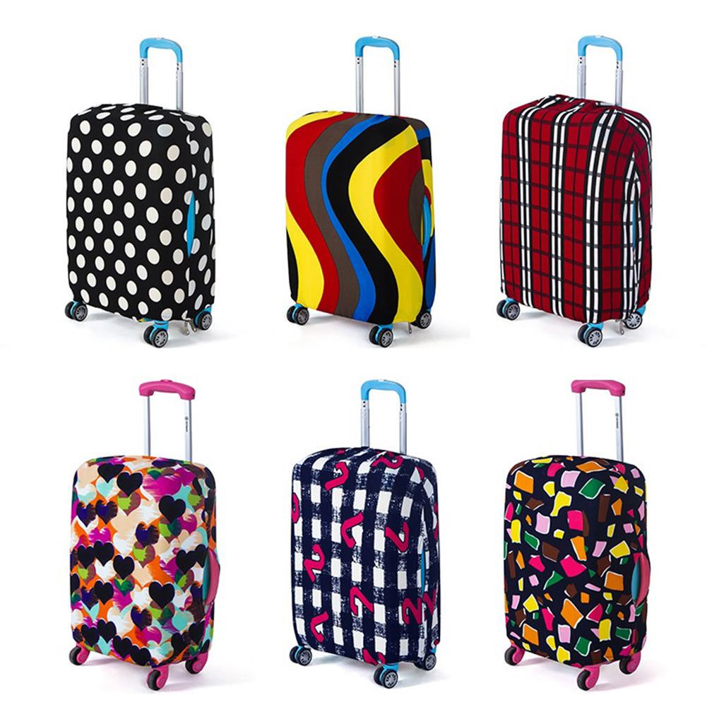 Elastic Luggage Suitcase Dust Cover Dustproof Protector Scratch Antiscratch DS