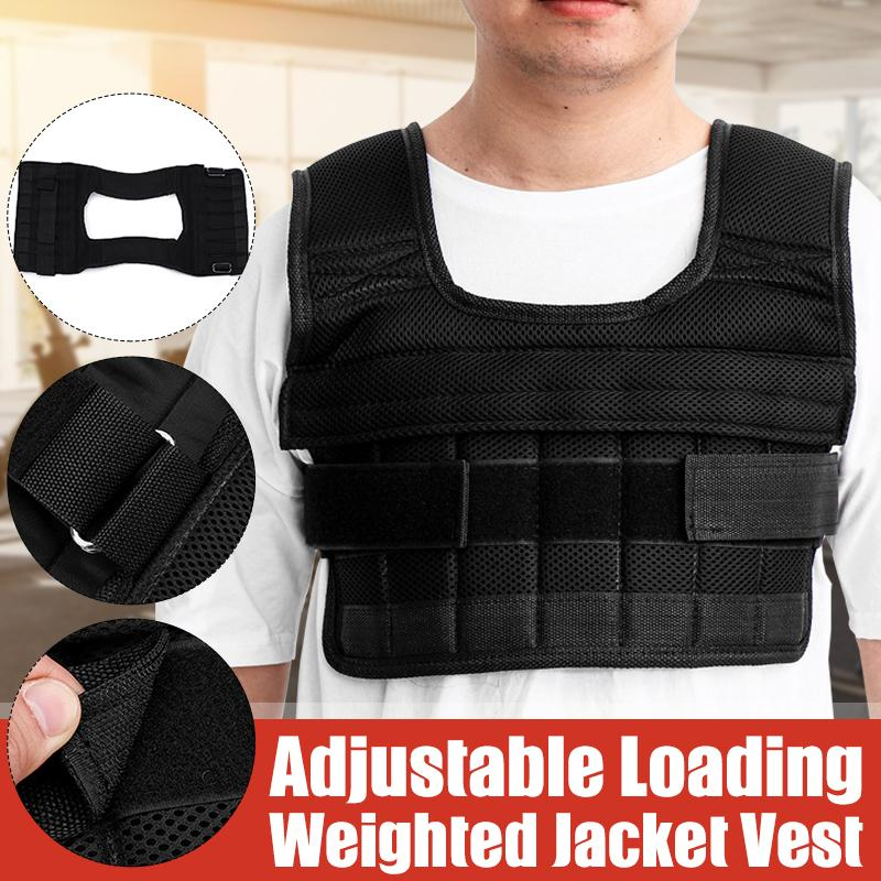 3//15//35kg Loading Weight Vest Jacket for Boxing Training Workout Equipment