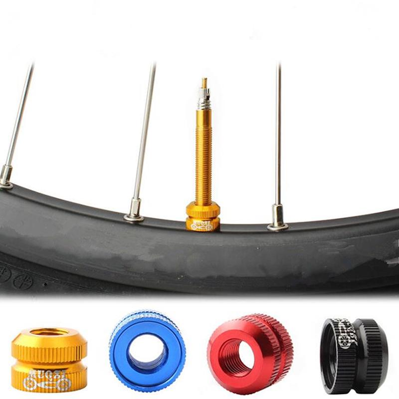 Outdoor Bicycle Tires Lock Nut Replacement Law Mouth Nuts Tube Valve Caps