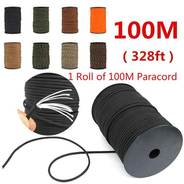 Diameter 4mm Parachute Cord Survival kit Paracord Cord Rope Lanyard Tent Ropes