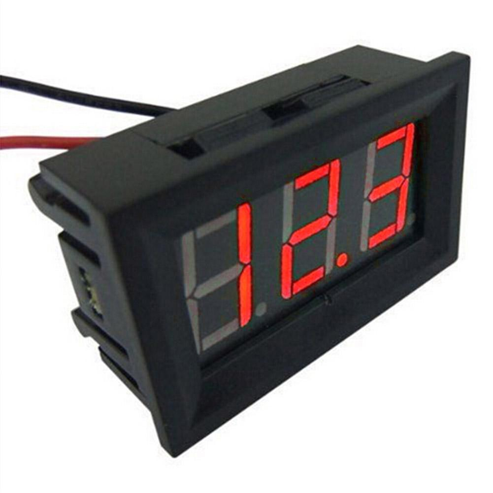New AC 60-500V LED Digital Voltmeter 220V//230V//110V Voltage Panel Meters RED CA