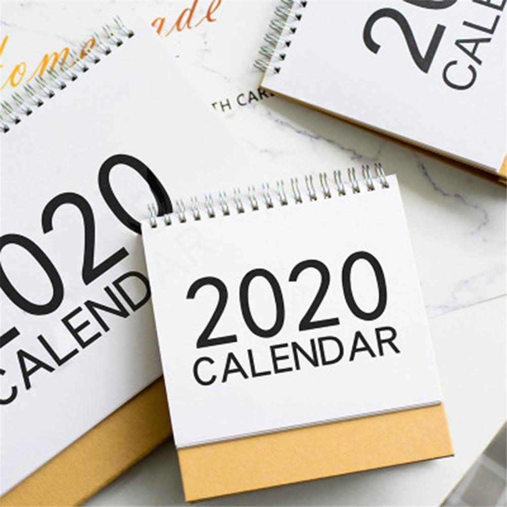 New Simple Desk Calendar Creative Notes