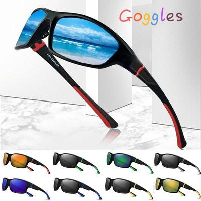 Polarized Sunglasses Driving Cycling Glasses Outdoor Sports Fishing Eyewear Mens