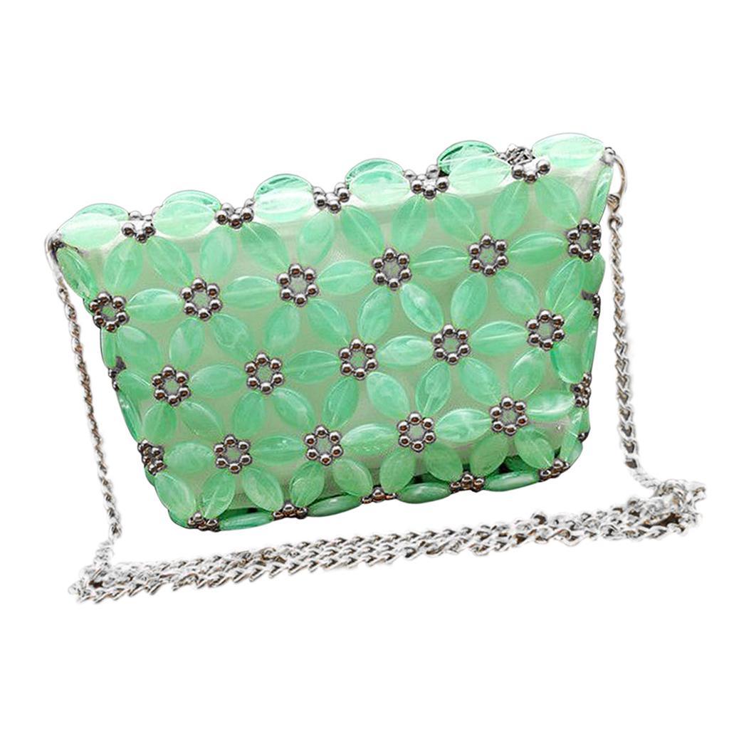 DIY Art/& Crafts Beads Weave Phone Bag Kits Crossbody Bag Making Supply Tools
