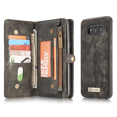 Samsung Galaxy S8 Wallet Case with Card Slot and Artificial Leather Flip Cover
