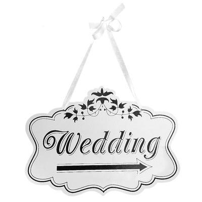 Rustikale Holz Hochzeit Zeichen Herr Frau Pfeil Schilder Hochzeit