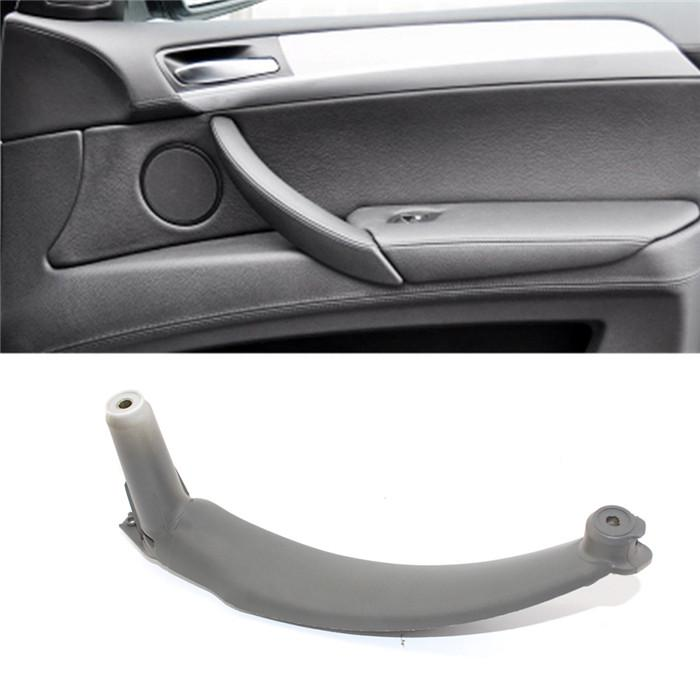 Left Door Panel Handle Pull Trim Cover For BMW E70 X5 51416969404 Inner Right
