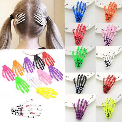Jewelry & Accessories Hair Jewelry Girl Of Hairpin The Fluorescence Fashion Women The Human Accessories Hair 1 Skeleton Novelty Hand Pc Harajuku Bones Hairclip