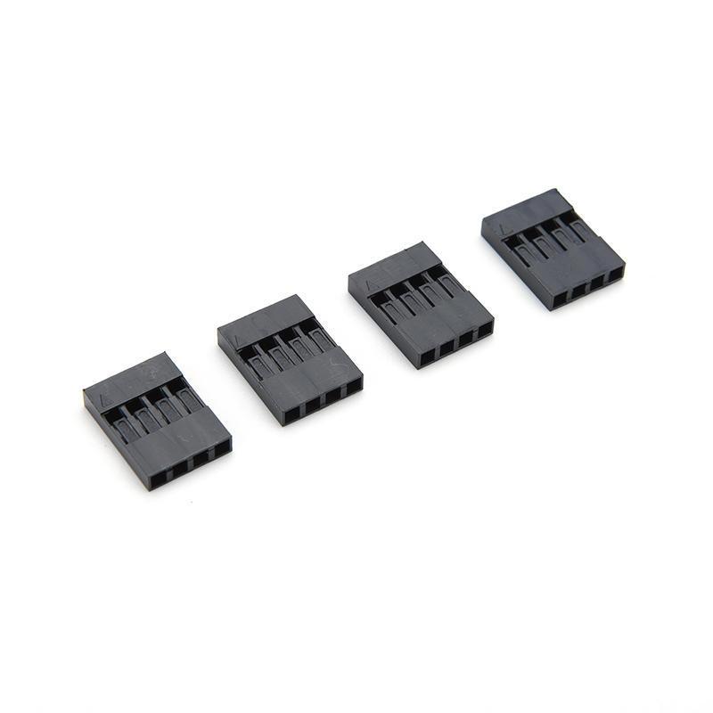 300pcs 2,54mm 2Pin Header Terminals Connector Draht Gehäuse Stecker Set