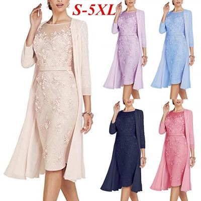 598fdf0e8b Modna sukienka damska Elegancka sukienka damska Dwuczęściowa sukienka  druhna Sukienka panny młodej