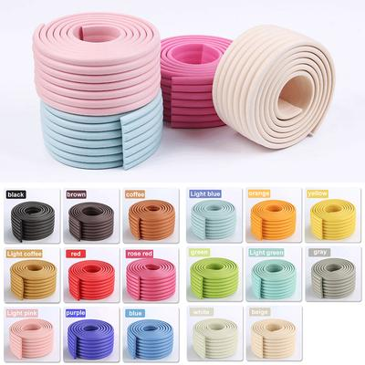2m Baby Safety Table Corner Bumper Infantdesk Table Edge Cushion Furniture Rubber Guard Strip Thicken Softener Bar Strip Bumper Edge & Corner Guards Safety Equipment