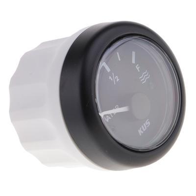 AEM Serie X Calibrador De Presión Kit De Accesorios-Plata Negro Fuel Placa Frontal Bisel.