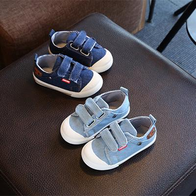 Baby Girl Shoes Kids Boy Denim Canvas