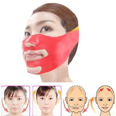 Massage & Relaxation Latest Collection Of Face Slimming Mask Silicone Massage Slim Bandage Double Chin Remove Weight Loss Belt Elegant In Style