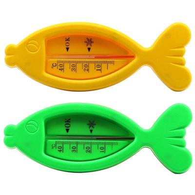 Product Float Plastic Toy Kids Fish Shape Thermometer Baby Shower Temperature