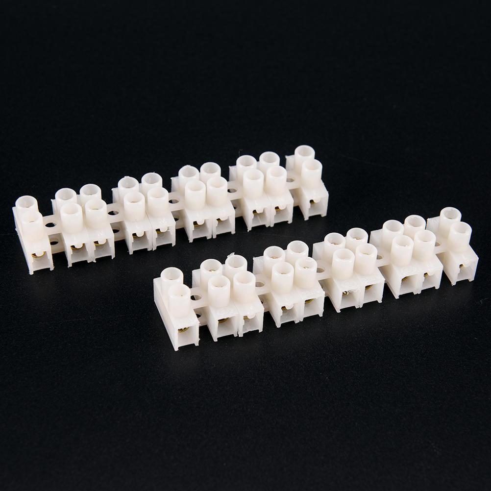 10PCSSale praktische langlebig 10A 2-Wege-elektrischen Klemmenblock ...