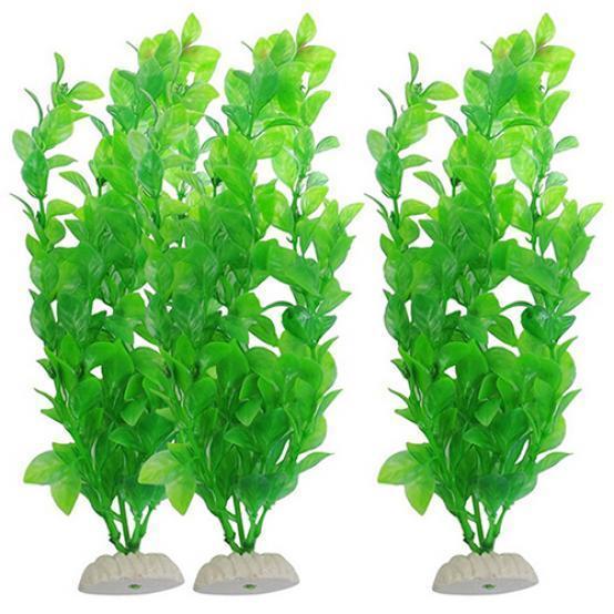 Зелёная декоративная трава для аквариума высота 26 ширина 12 см – купить по низким ценам в интернет-магазине Joom