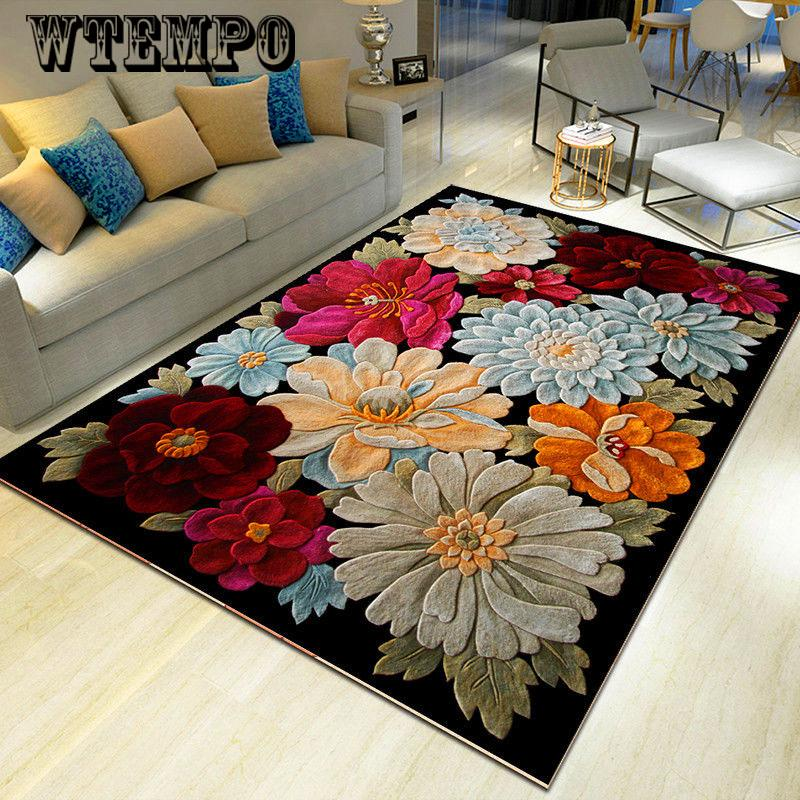 Cartoon 3d Large Modern Area Rug, Rugs For Living Room