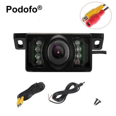 LED Waterproof HD Backup Camera Vehicle Short License Plate Parking System Car Rearview Camera