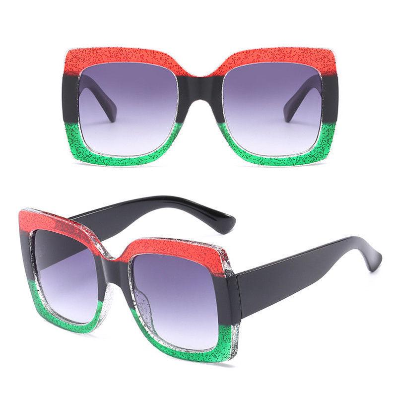 Gafas de sol cuadradas grandes lentes gafas de sol Vintage gradiente -  comprar a precios bajos en la tienda en línea Joom d2b39297c8