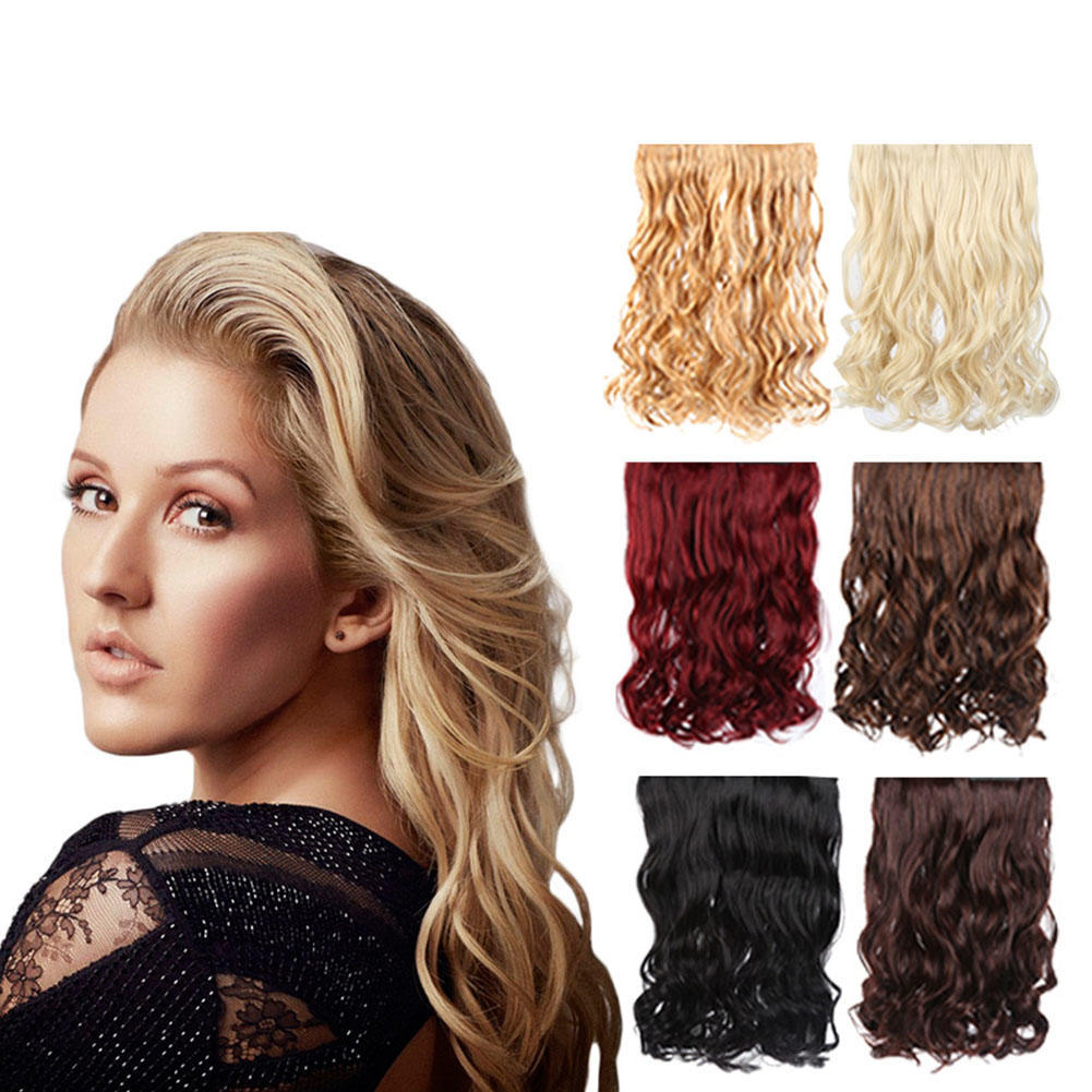 Full Head Clip In Human Hair Extensions Buy At A Low Prices On Joom
