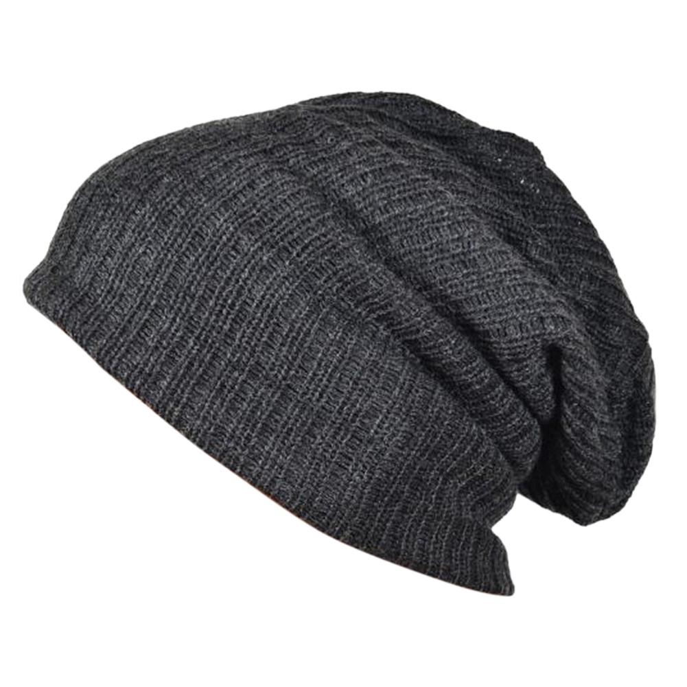 Cotton Baggy Oversize Beanie for Men Women Ski Snowboard Cap Hat Skull