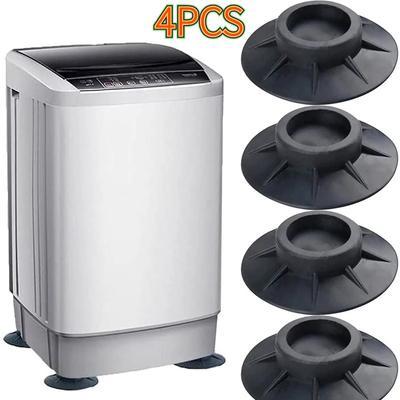 4Pcs Rubber Washing Machine Anti-Vibration Feet Pads