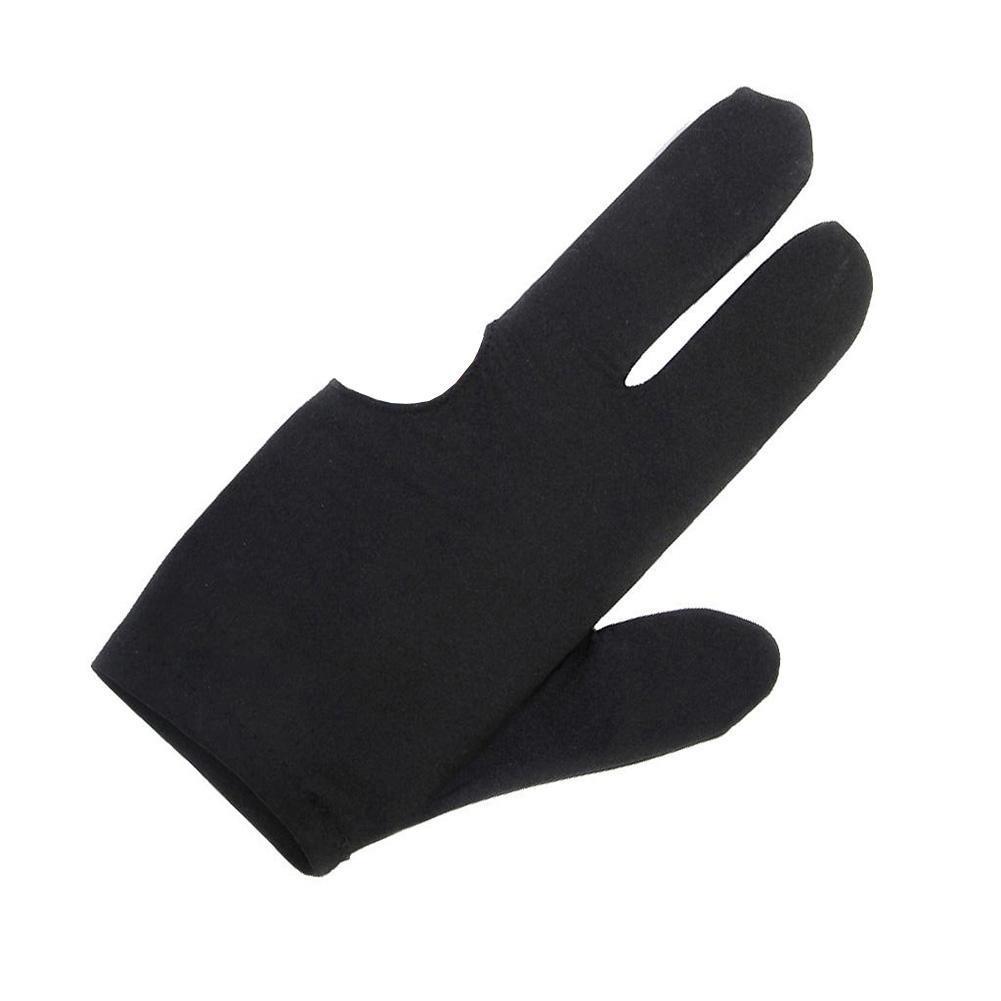 Quality 1Pc three Fingers Gloves Cue Billiard Pool Shooter Gloves Snooker Tool