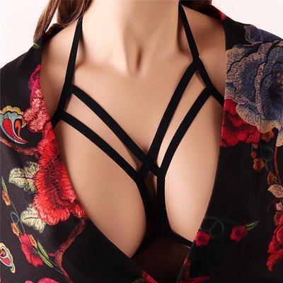 436e432b08933 Women Bandage Bra Sexy Cupless Elastic Bras for Women Strap Bralette Bra  Bustier Lingerie