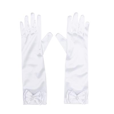 Yummy Bee Satin Gloves Fancy Dress Party Womens Wedding Evening Long Prom Ladies