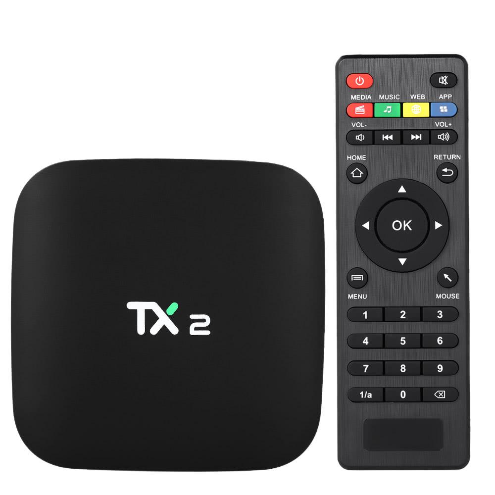 TX2 Smart Android TV Box Android 6.0 Rockchip RK3229 Quad Core UHD 4K VP9  H.265 Mini PC-buy at a low prices on Joom e-commerce platform