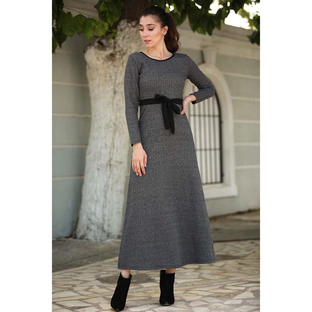 Платье с узором в виде талии  – купить по низким ценам в интернет-магазине Joom