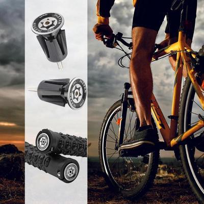 New Bike Bicycle Aluminum Handlebar Grips Cap Plug Handle Bar Cap End 2Pcs//set