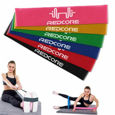 Resistance Exercise Band Home Gym Stretch Yoga Physio Glute 6 Level Fitness Tool