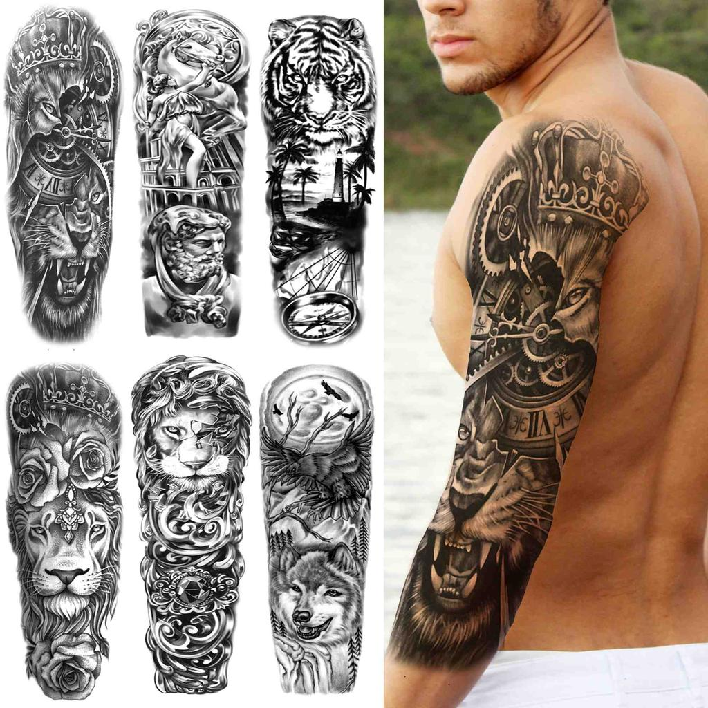 Männer löwe tattoo unterarm 50 einzigartige