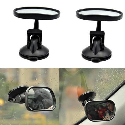 b2ce58cd2857 Мини-авто регулируемый широкий вид сзади/Baby/детское сиденье крепление  безопасности зеркало подголовник