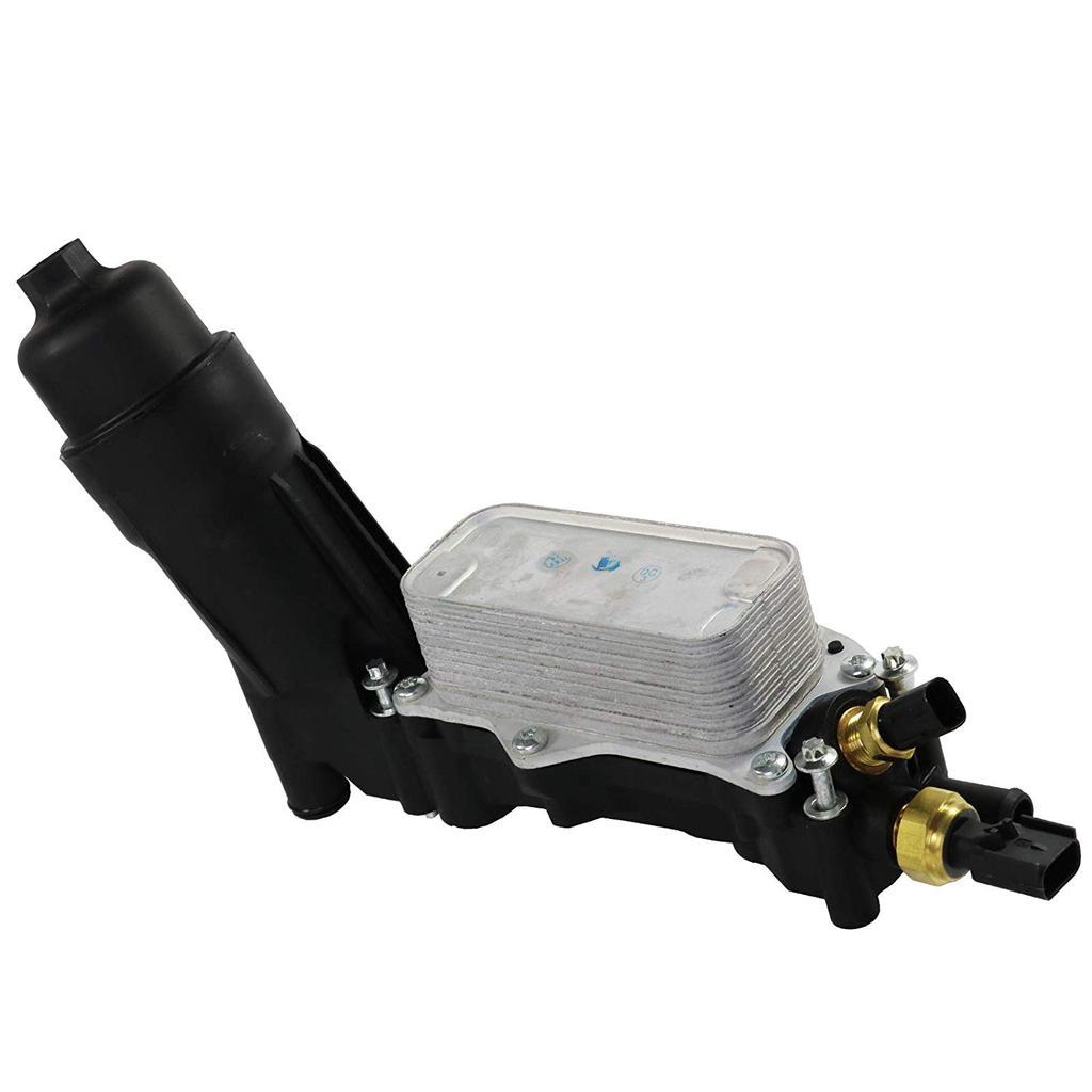 Engine Oil Cooler Filter Housing For Jeep Dodge Chrysler 3.6L V6 11-13 5184294AE