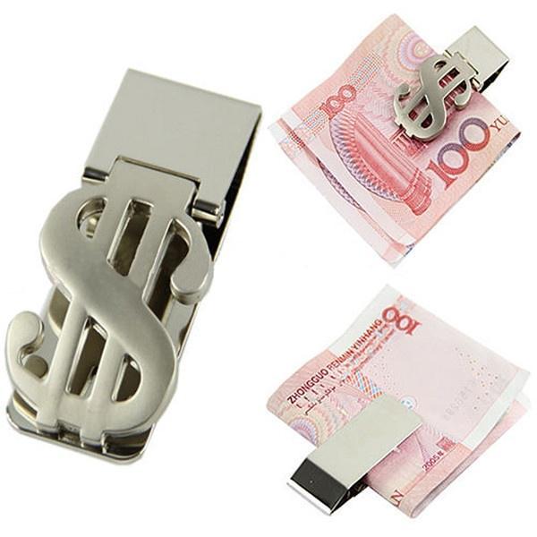 9f234c902 Titular de la tarjeta de crédito diseño de dólar cortadora de dinero acero  inoxidable efectivo cuenta