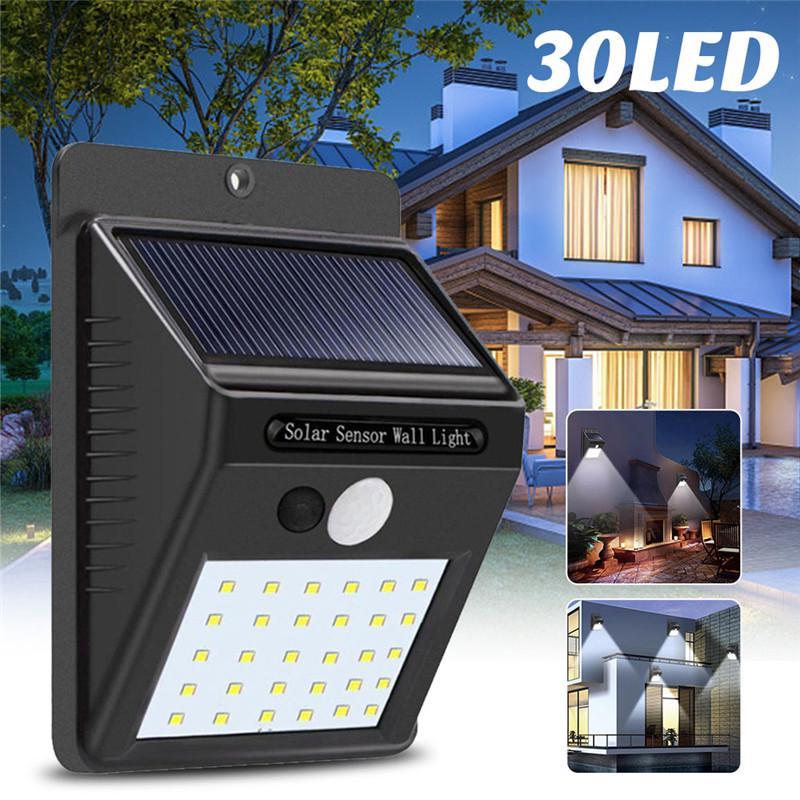 20 Leds Solar Power Pir Motion, Outdoor House Led Lights With Motion Sensor
