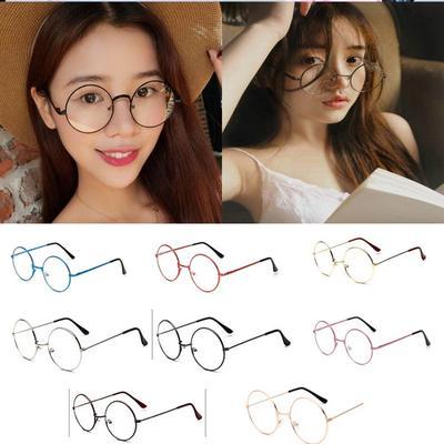 413f46bd7c Vintage Retro Harry Round Glasses Style Potter Frame Eyewear Clear Unisex  Fashion Accessories