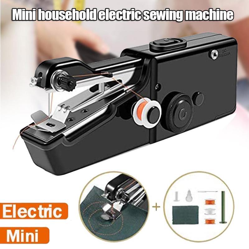 DIY Мини Handy Stitch Многофункциональный Портативный Дом Малый Профессиональный Электрический Швейный машинный инструмент – купить по низким ценам в интернет-магазине Joom
