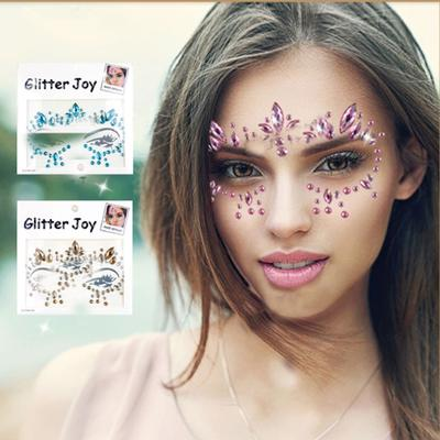 Diy Eyebrow Adhesive Crystal Glitter Face Body Art Festival Party Makeup Buy At A Low Prices On Joom E Commerce Platform