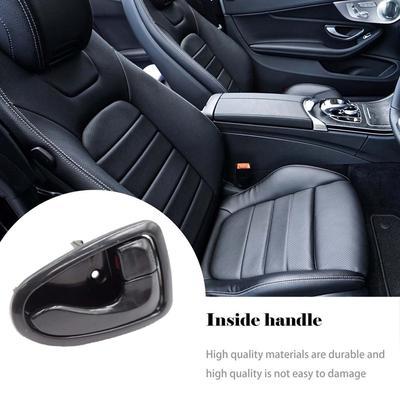 SODIAL Adatto per BMW E90 Serie 3 Berlina per Auto Maniglia del Pannello Interno della portiera Coprire Il Rivestimento Sinistro Lato Beige
