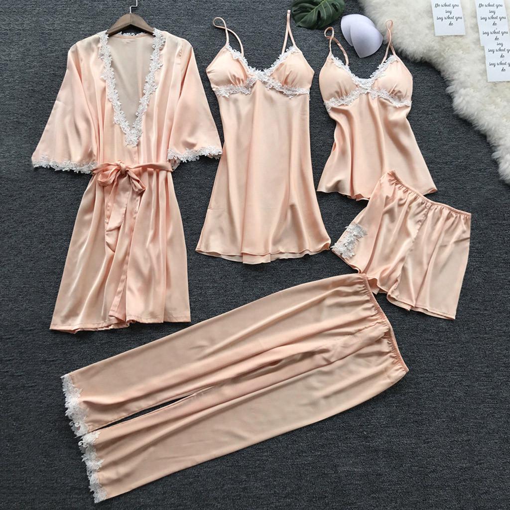 Details about  /Sexy Nightdress Women/'s Babydoll Sleepwear Lingerie Nightgown Pajamas Robe Dress