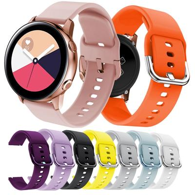 For Samsung Galaxy Watch Active Sport Silicone Band Replacement Strap 20mm