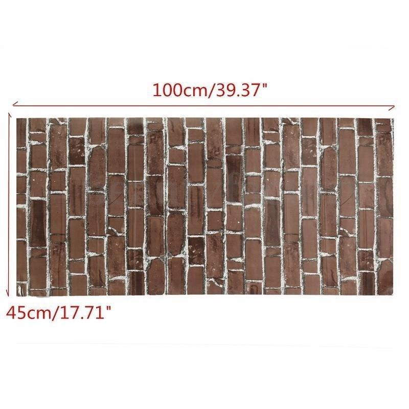 3adc5be0a3678 Papel pintado piedra ladrillo pasta el fondo de pantalla del rodillo  pegatinas decoración casera - comprar a precios bajos en la tienda en línea  Joom