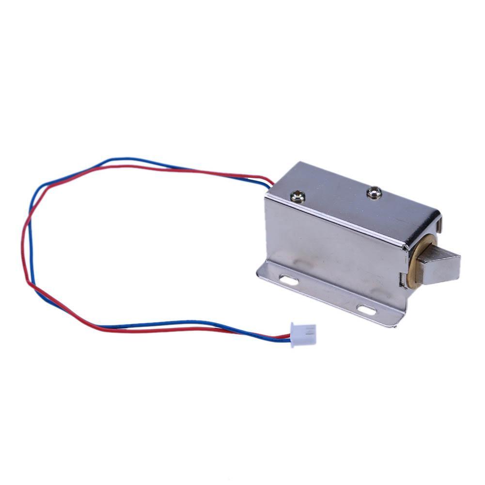 Dc12v Lock Zunge Aufwärts Elektrische Magnetventil Montage Tür Schublade