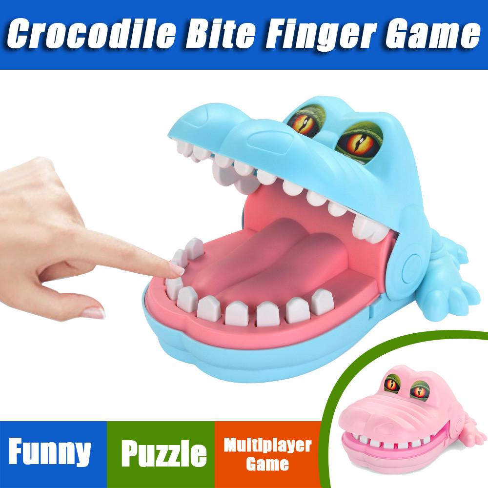 2019 Hot Creative Crocodile Mouth Dentist Game Finger Biting Funny Toy For Kids