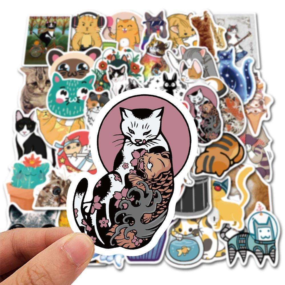 Vinyl Waterproof Stickers Minecra/_ft Stickers| 50 pcs minecra/_ft Funny cute Vinyl Gaming Stickers for Laptop Motorcycle Bicycle Luggage Wall Boys Adults Girls Decal Stickers for Teens